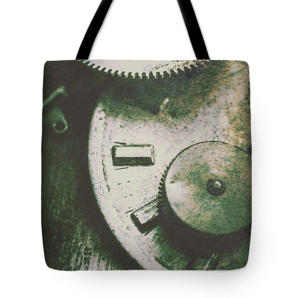 Machinery From The Industrial Age Tote Bag