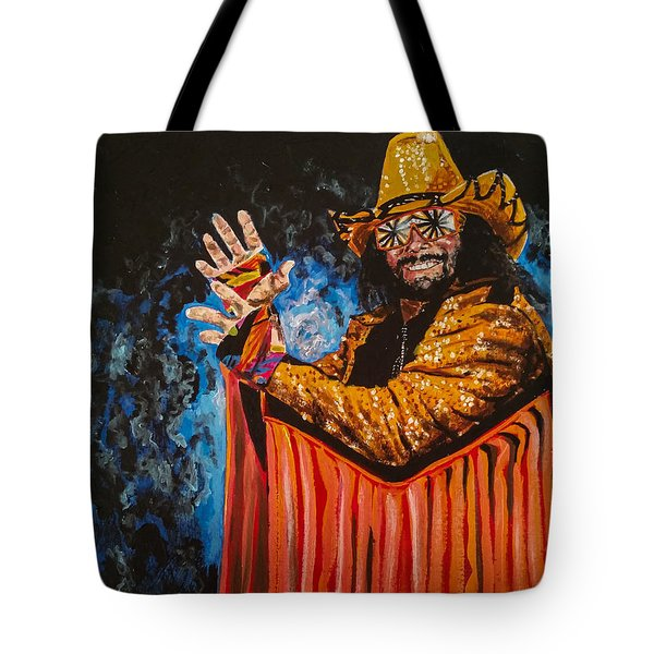 Macho Man Randy Savage Tote Bag