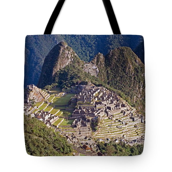 Machu Picchu Tote Bag by Aivar Mikko