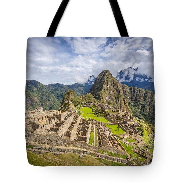Tote Bag featuring the photograph Machu Picchu Peru by Gary Gillette