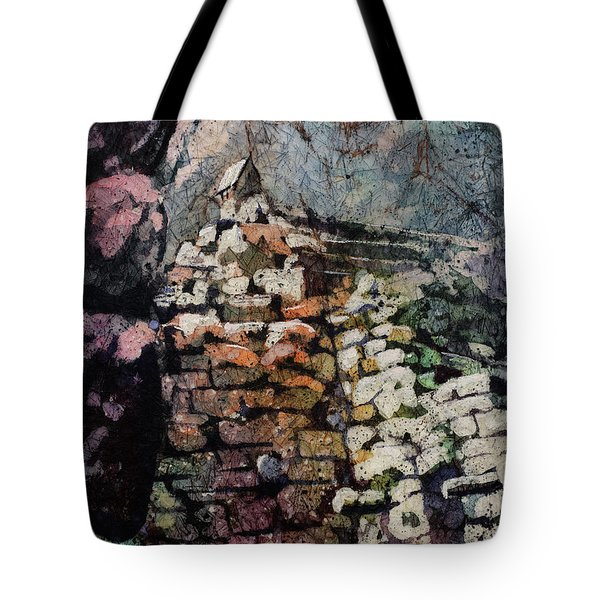 Machu Picchu Ruins- Peru Tote Bag by Ryan Fox