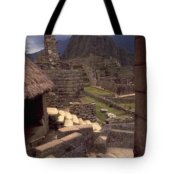 Tote Bag featuring the photograph Machu Picchu by Travel Pics