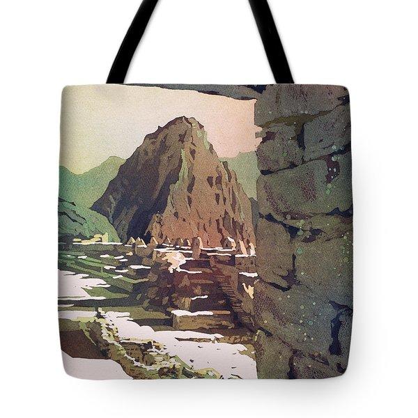 Machu Picchu Vista- Peru Tote Bag