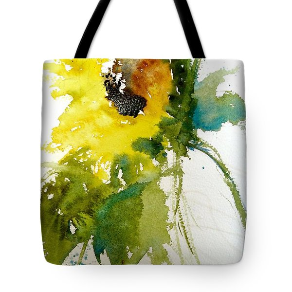 Maci's Sunflower Tote Bag