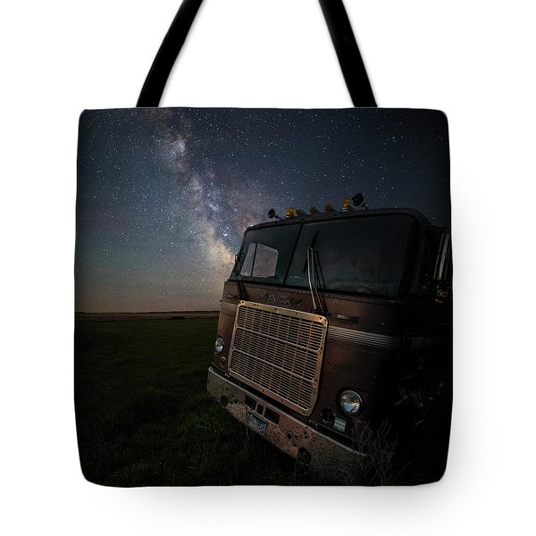 Tote Bag featuring the photograph Mack by Aaron J Groen