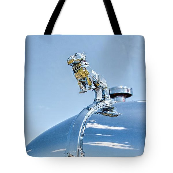 Mack Hood Ornament Tote Bag