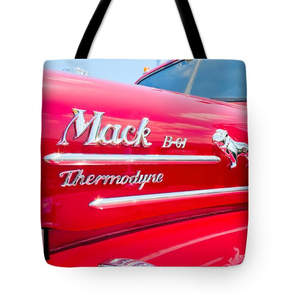 Mack Truck Hood Badges Tote Bag