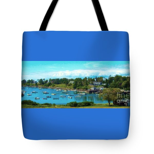 Mackerel Cove On Bailey Island Tote Bag