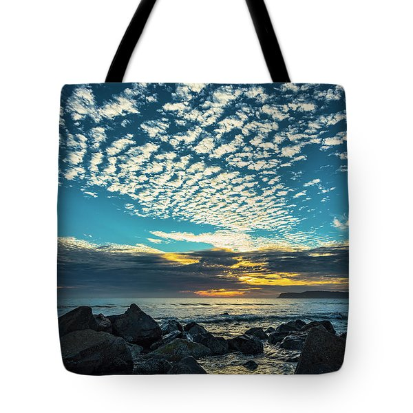 Mackerel Sky Tote Bag
