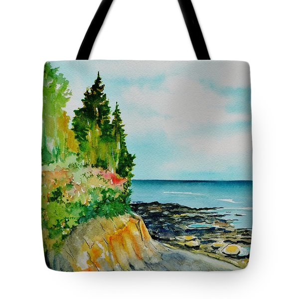 Mackworth Island Maine  Tote Bag