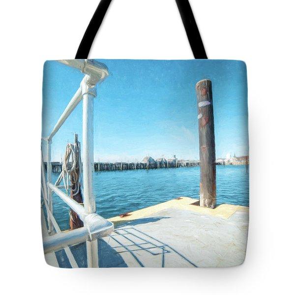 Macmillan Pier Tote Bag
