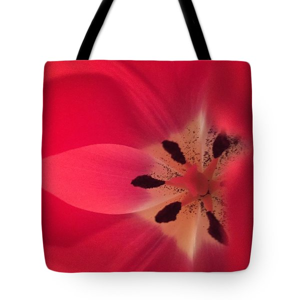 Macro Beauty Tulip Tote Bag