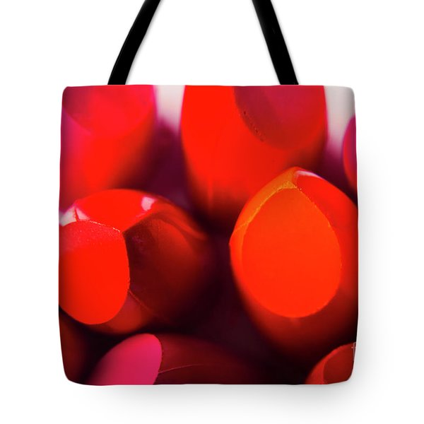 Tote Bag featuring the photograph Macro Cosmetic Art by Jorgo Photography - Wall Art Gallery