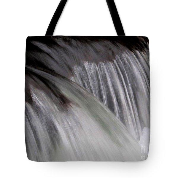 Macro Falls Tote Bag