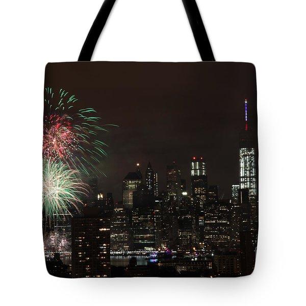 Macy's July 4th 2015 Fireworks-1 Tote Bag
