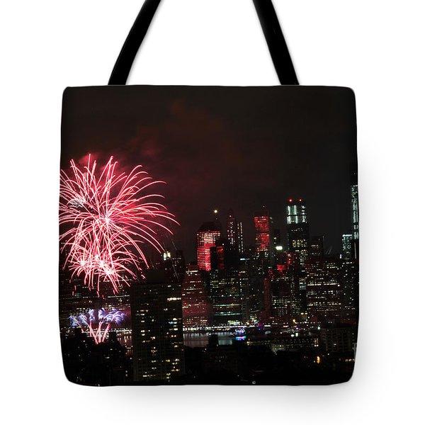 Macy's July 4th 2015 Fireworks-2 Tote Bag