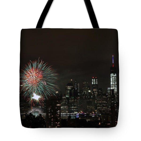 Macy's-july 4th 2015-fireworks-3 Tote Bag