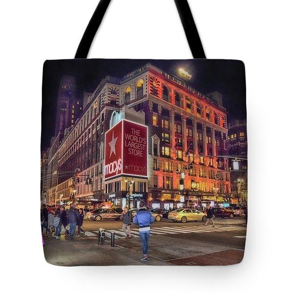 Macy's Of New York Tote Bag