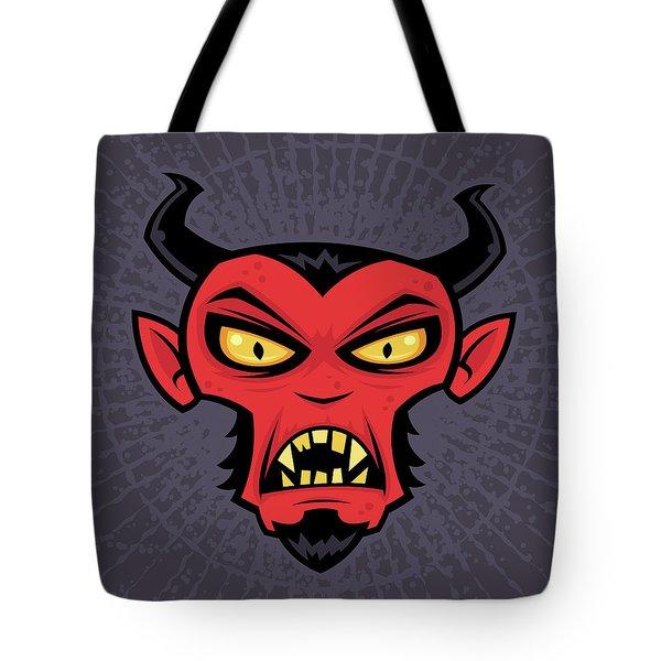 Mad Devil Tote Bag by John Schwegel
