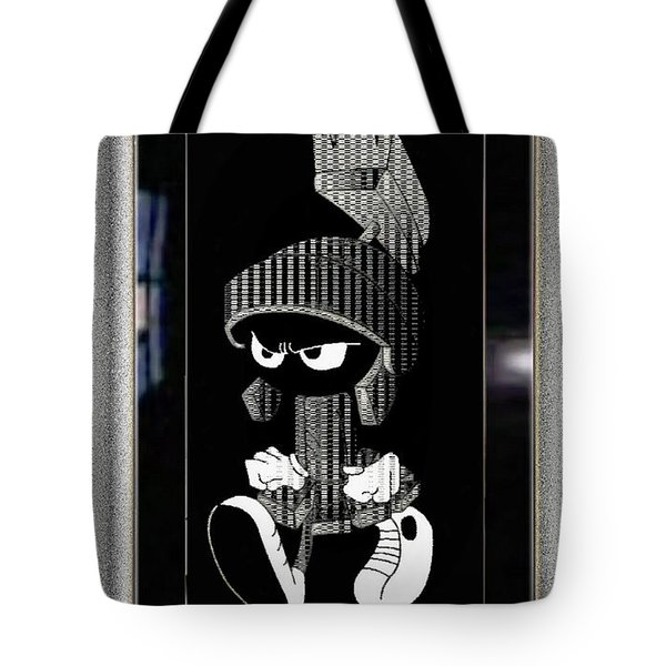 Mad Marvin Tote Bag