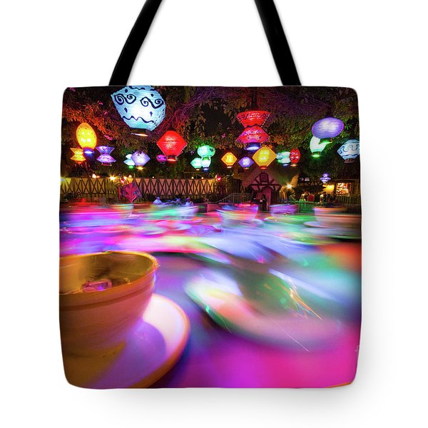 Tote Bag featuring the photograph Mad Tea Party by Vincent Bonafede