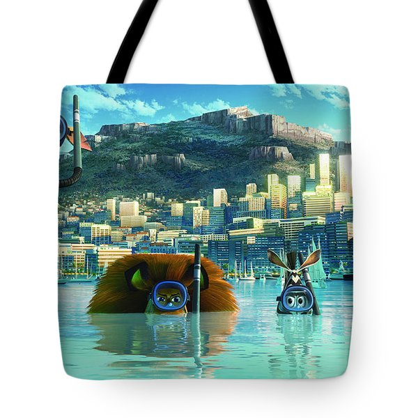Madagascar 3 Europe's Most Wanted Tote Bag