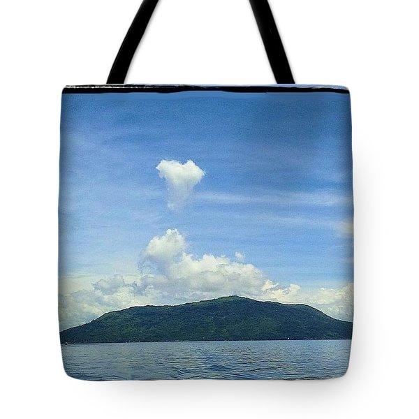 Madagascar Clouds Tote Bag
