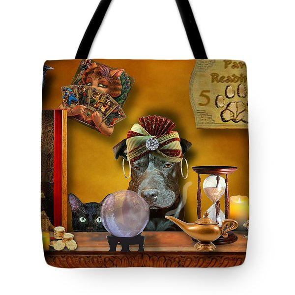 Madam Raisin Tote Bag