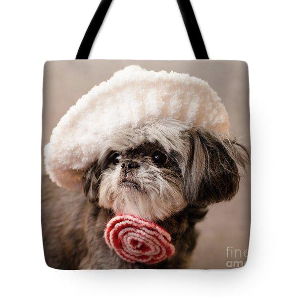 Madam Scarlett Tote Bag