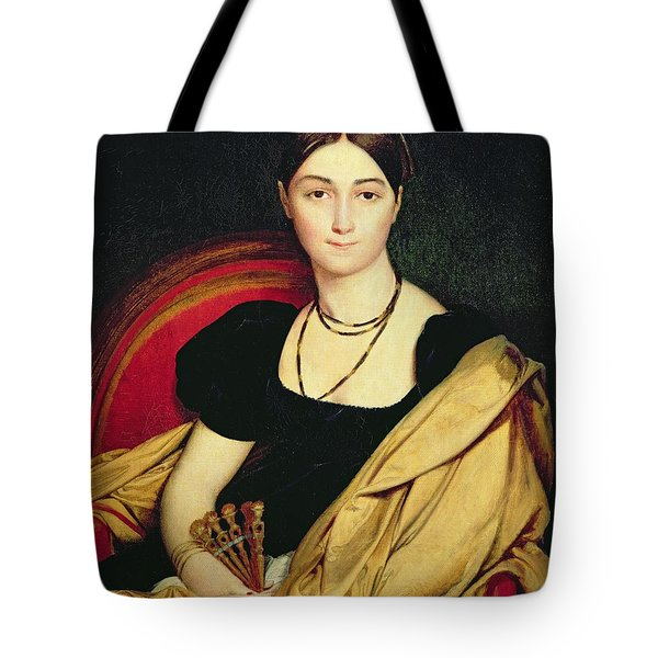 Madame Devaucay Tote Bag by Jean Auguste Dominique Ingres