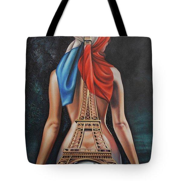 Madame Eiffel Tote Bag