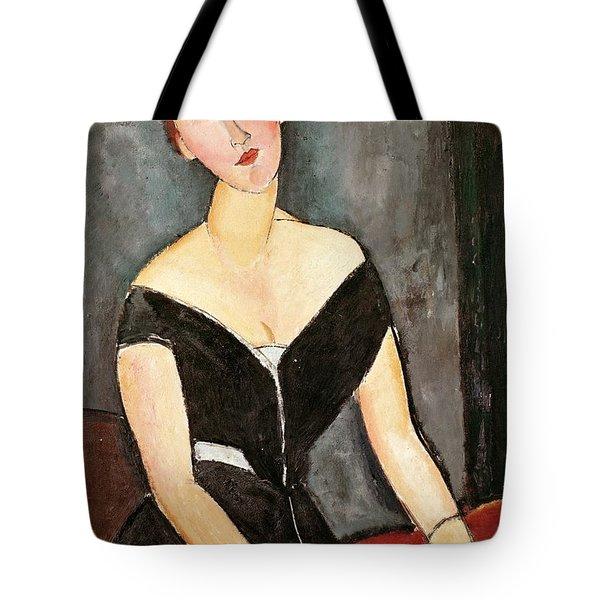Madame G Van Muyden Tote Bag by Amedeo Modigliani