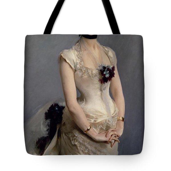 Madame Paul Poirson Tote Bag by John Singer Sargent