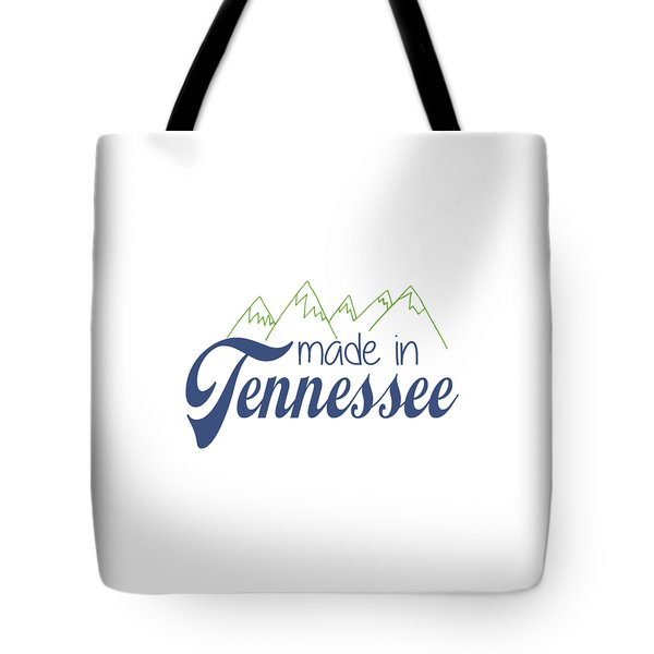 Tote Bag featuring the photograph Made In Tennessee Blue by Heather Applegate