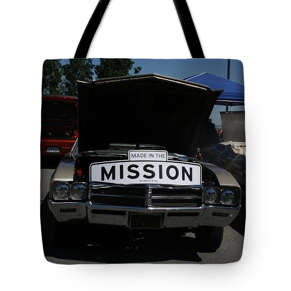 Made In The Mission Tote Bag