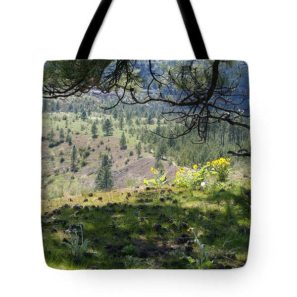 Tote Bag featuring the photograph Made In The Shade by Ben Upham III