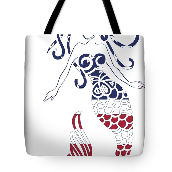 Made In The Usa Tribal Mermaid Tote Bag