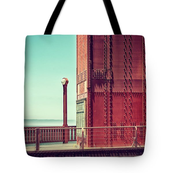 Made Of Steel Tote Bag