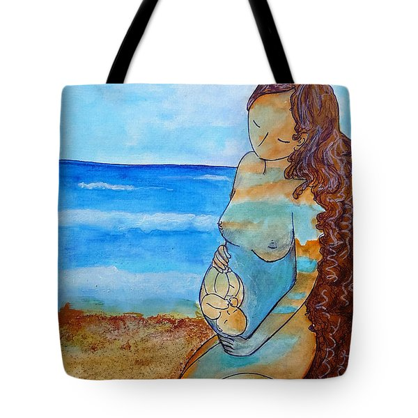 Made Of Water Tote Bag by Gioia Albano