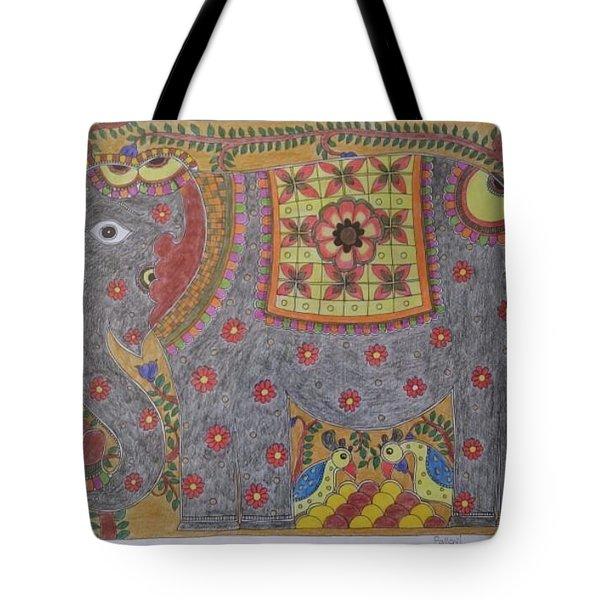 Madhubani Art Tote Bag