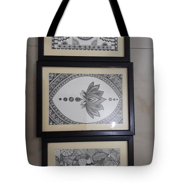 Madhubani  Tote Bag