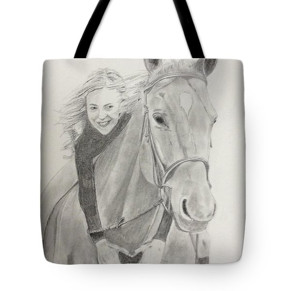 Madison And Maverick Tote Bag by Steven Powers SMP