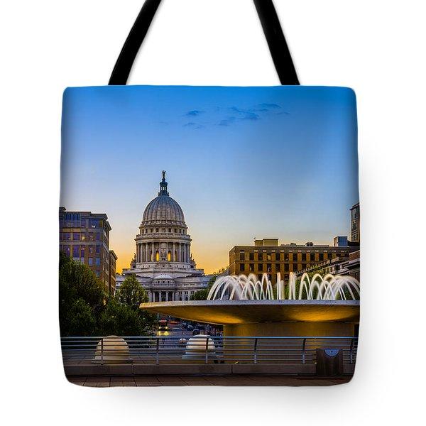 Madison Domes Tote Bag by Mark Goodman