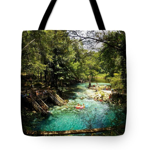 Madison From The High Bank Tote Bag