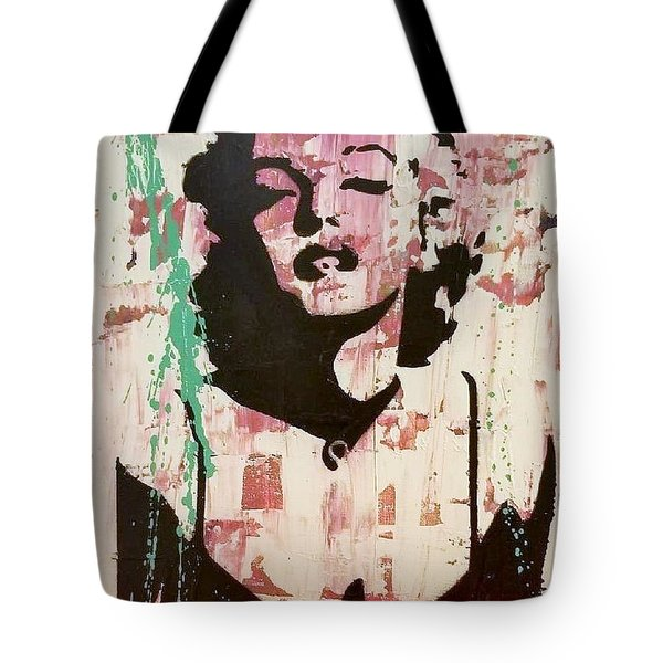 Tote Bag featuring the painting Madness Is Genius by Jayime Jean