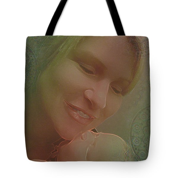 Madonna And Child 1 Tote Bag