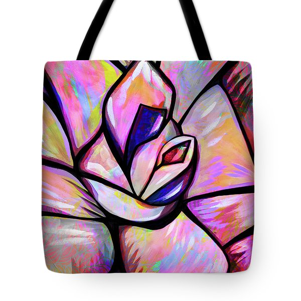 Madonna And The Universe Tote Bag
