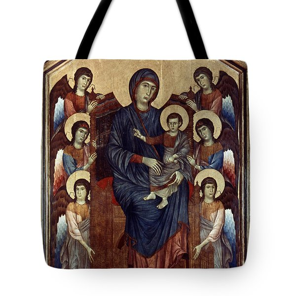 Madonna & Child In Majesty Tote Bag by Granger
