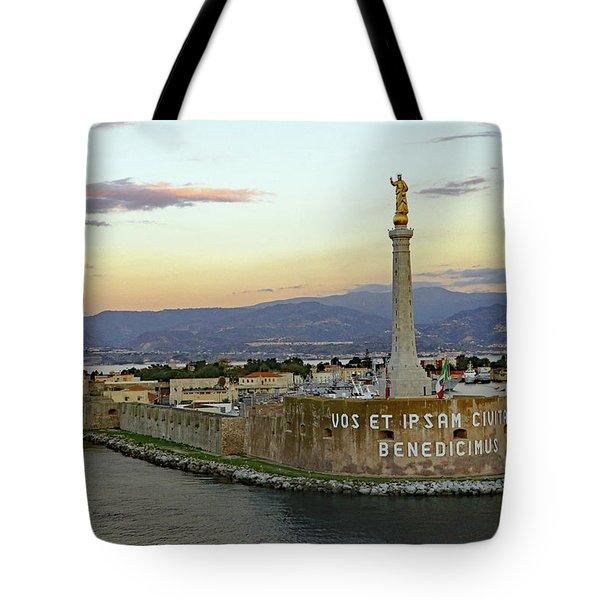 Madonna Della Lettera Tote Bag