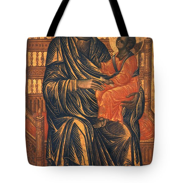 Madonna Icon, 13th Century Tote Bag by Granger